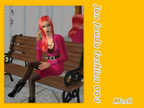 Sims 2 — Autumn outfit - Mesh  by L-75_sims — Beautiful black outfit for your sims. Mesh.