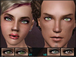 Sims 3 — EyeSet19 by Shojoangel — Hi everybody...recolorable (4 channels)..these are colorful and shiny eyes, all