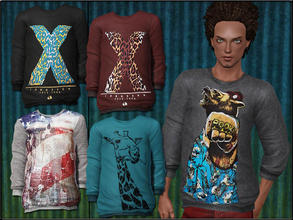 Sims 3 — MaleFashionSet6_Pullover by Shojoangel — Hi...fashionable and trendy set for your male sims...recolorable...big
