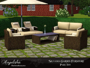 Lovely Silvania Garden Furniture (part.