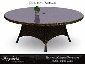 Silvania Round Dining Table