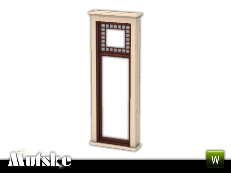 Mutske 39 s queen anne tall window 1x1 for Queen anne windows