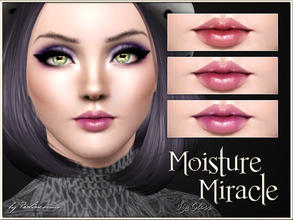 Sims 3 — Moisture Miracle Lip Gloss by Pralinesims — New realistic lipstick for your sims! Your sims will love their new