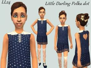 Sims 2 — Little Darling Set - Polka Dot by luckylibran242 — For the little girl who has everything...including that 3
