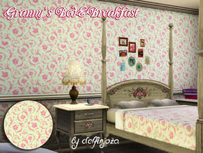 Sims 3 — Granny's Bed&Breakfast - Once Upon a Time Pattern by delfinjoza2 — Pattern from ABC TV show - Once Upon a