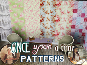 Sims 3 — Once Upon a Time Patterns by delfinjoza2 — Set of Once Upon a Time - ABC TV show. Set features one pattern from