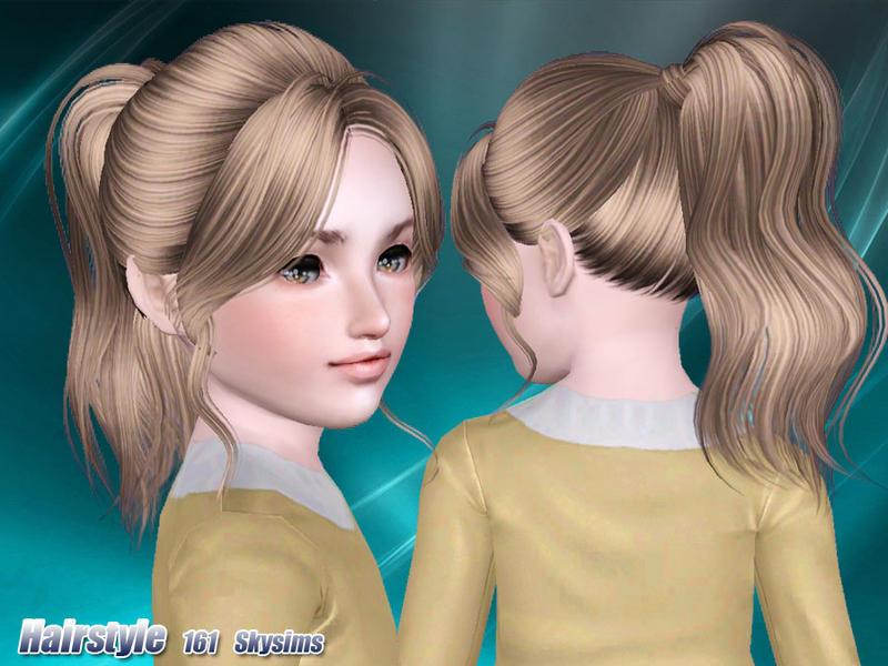 Skysims Hair Child 161