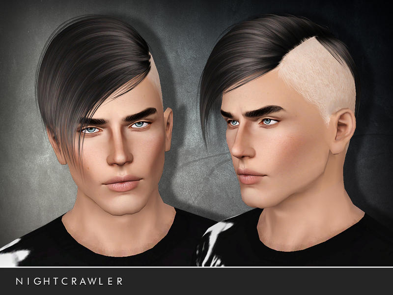 Galerry undercut hairstyle details