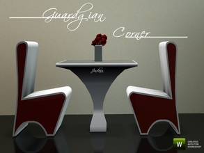 Sims 3 — Guardgian Corner by Jindann — This dining set is classy, modern, and beautiful. grab it for your Simmies! It has