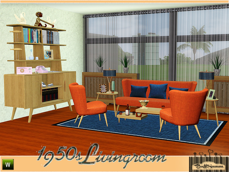 buffsumm 39 s 1950s livingroom pt 1. Black Bedroom Furniture Sets. Home Design Ideas
