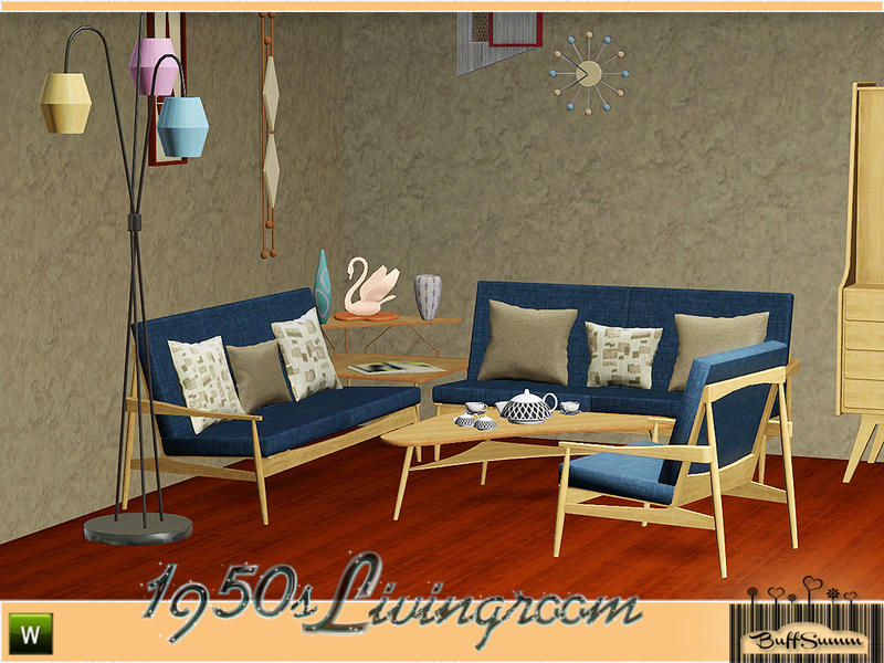 buffsumm 39 s 1950s livingroom pt 3. Black Bedroom Furniture Sets. Home Design Ideas