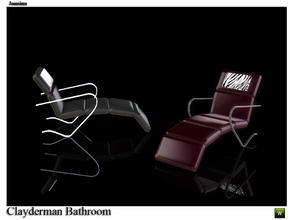 Sims 3 — lounge chair clayderman by jomsims — lounge chair clayderman