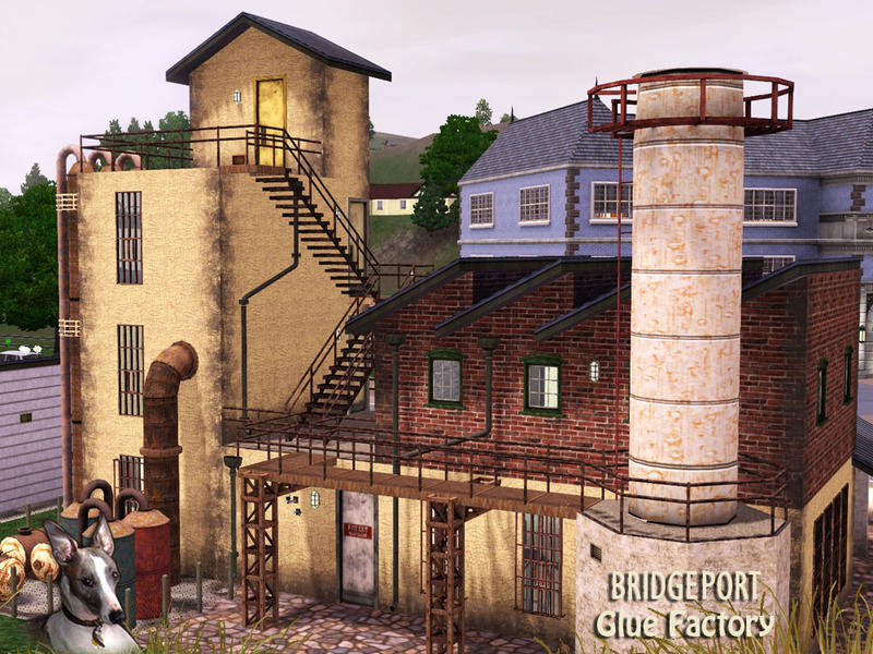 Sims  Abandoned Building Mod