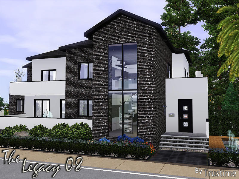 Sims 2 legacy house ideas