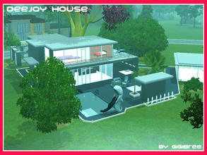 Sims 3 — DeeJay House by Gigibree2 — DeeJay House is a big familiar home. It has in the first floor 1 bedroom, 1 wide
