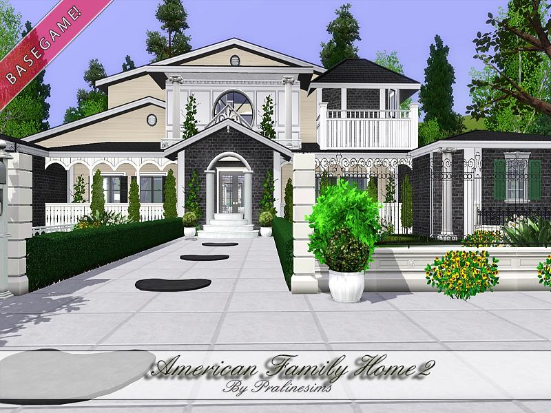 Pralinesims 39 american family home 2 for American family homes