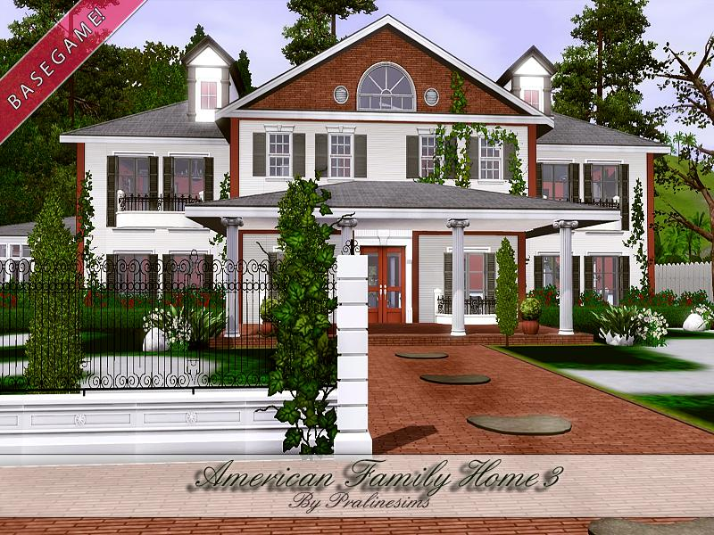 Pralinesims 39 american family home 3 for American family homes