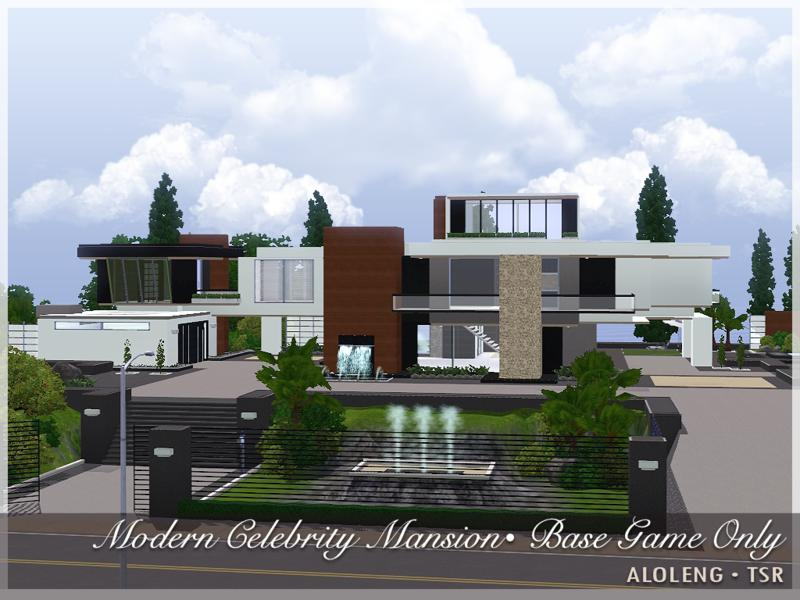 Bridgeport Hills - Celebrity Mansion (Sims 3 House ...