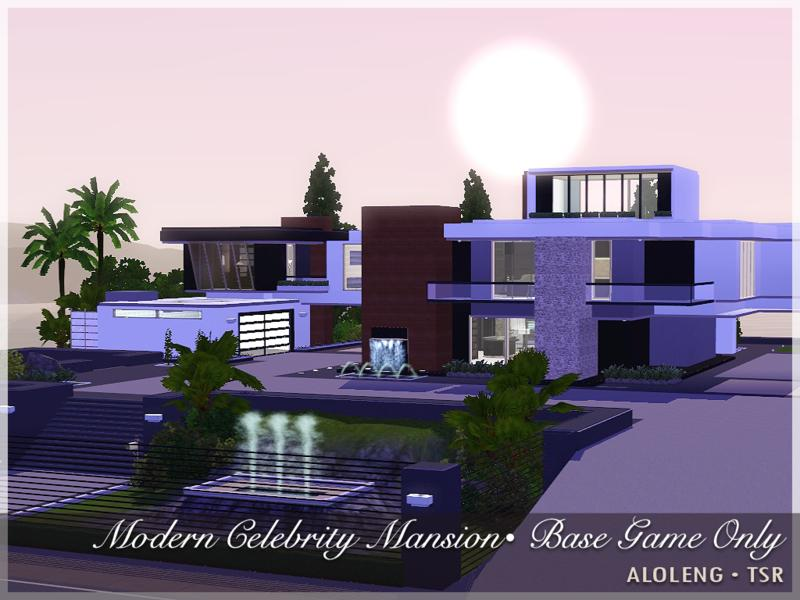 Modern Celebrity Mansion by curtisparadis - The Sims 3