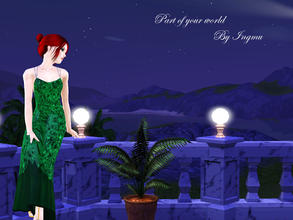 Sims 3 — Part of your world mermaid dress (top) by ingmu2 — Beautiful collection inspired by The Little Mermaid.