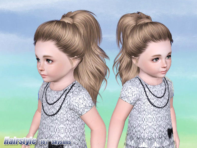 Skysims Hair Toddler 167