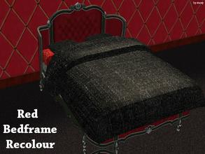 Sims 2 — Odyssey Bed Collection - Bedframe Recolour by staceylynmay2 — This is the recolour bedframe from curiousb, which