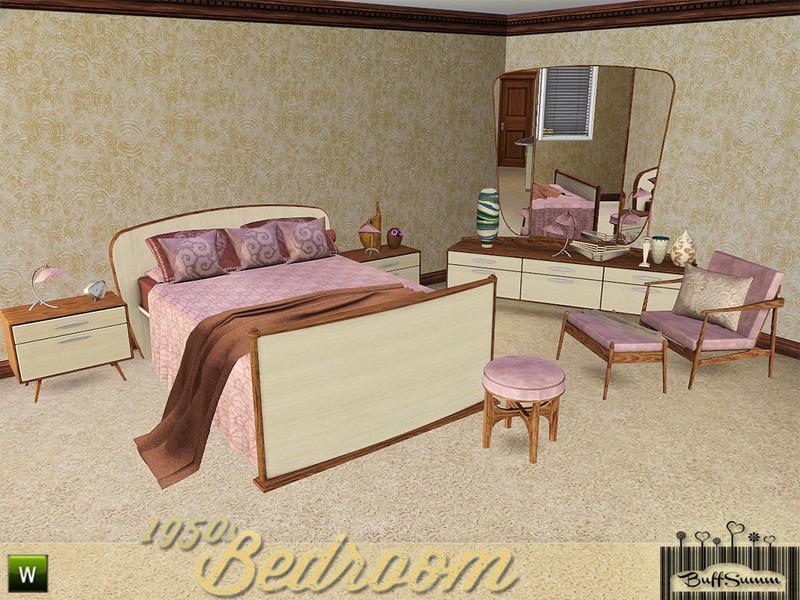 BuffSumms 1950s Bedroom – 1950s Bedroom