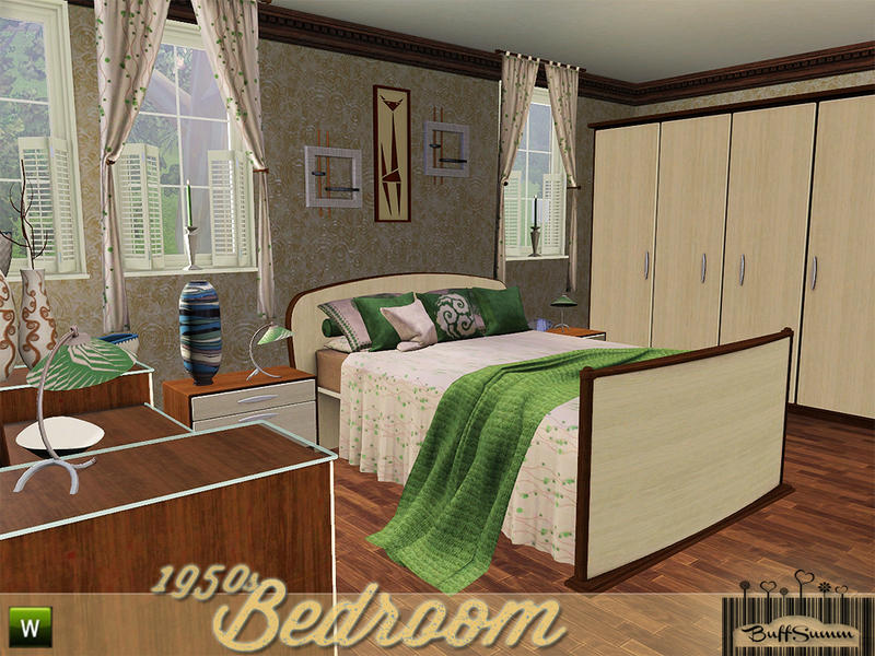 buffsumm s 1950s bedroom