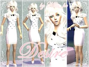Sims 2 — Desire by Nita_hc — - Butterflies t-shirt and pink skirt by Nita_hc - mousey nosemasks toffee, Pyxis - blush,