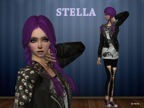 Sims 2 — Stella by staceylynmay2 — She comes with everything you see. Thanks to all for the meshes :)