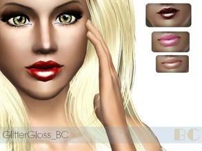Sims 3 — GlitterGloss_BC by BlackCat_Tsr_ — Create with Tsr-Workshop. Thank you for download. More Here:
