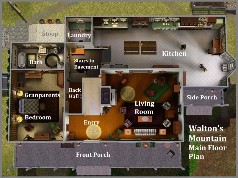 Waltons Tv Show House Plans