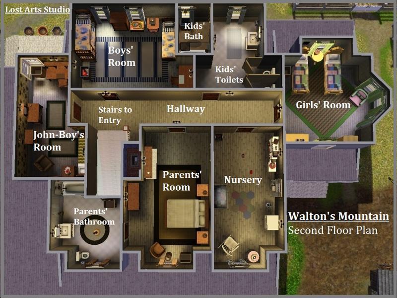 Waltons Tv Show House Plans