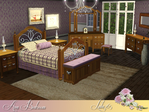 Sims 3 — Ava Bedroom by Lulu265 — Luxury combined with comfort in this classic bedroom makes for an especially inviting