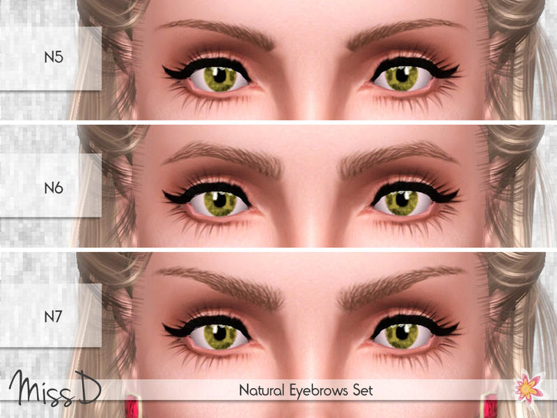Missdaydreams Natural Eyebrows Set