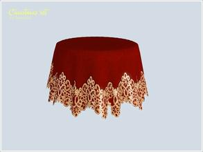 Lace Tablecloth Round