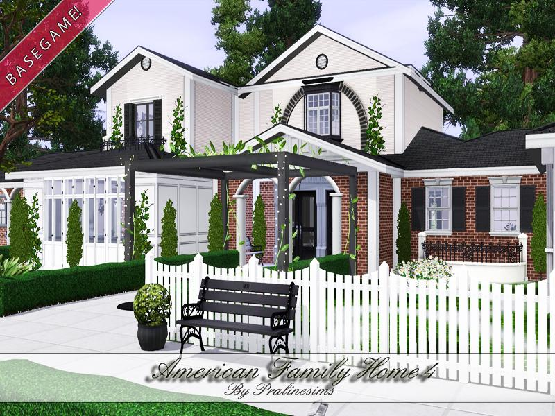 Pralinesims 39 american family home 4 for The family house