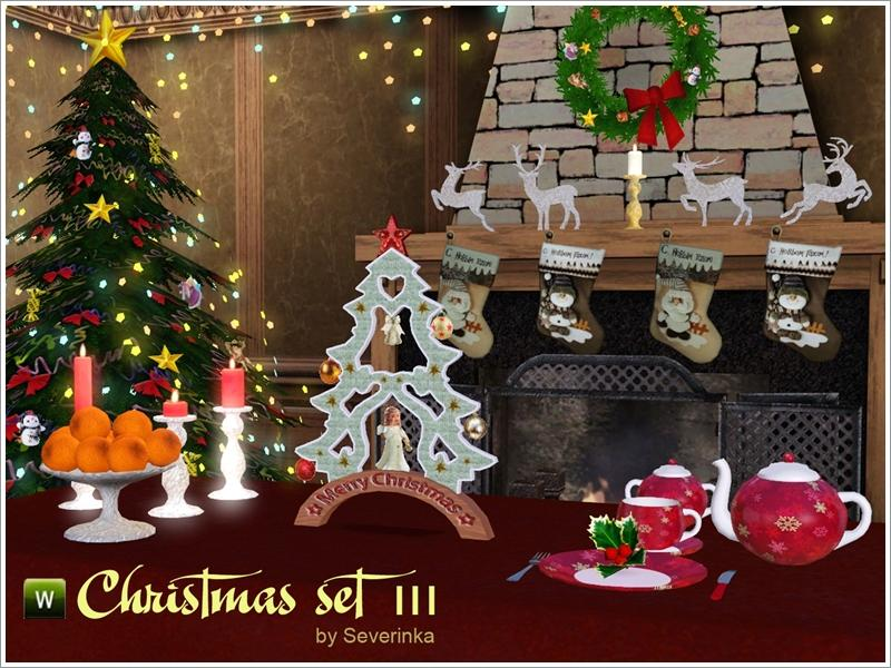 Severinka S Christmas Set Iii