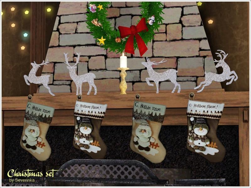 Severinka_'s Christmas set III