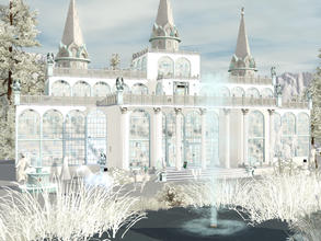 Sims 3 — Snow Queen's Palace by Wimmie —