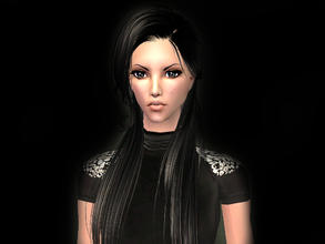 Sims 2 — Amelya by Lisica022 — Amelia is calm and quiet girl. She does not like noisy companies. Dreams of becoming a