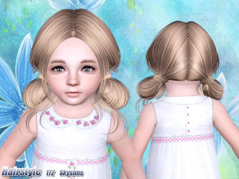 Skysims Hair Toddler 172