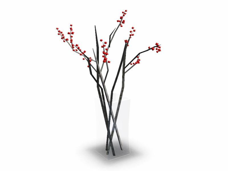 Simman123s Berry Stick Vase