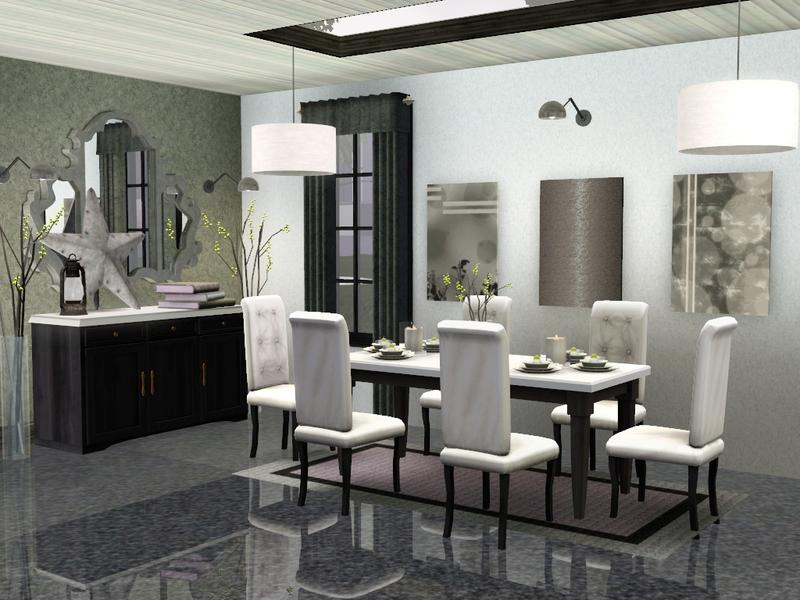 Sim man123 39 s midtown dining room for Sims 3 dining room ideas