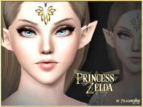 Sims 3 — Princess Zelda by Pralinesims — The beautiful Princess Zelda from the video game series 'The Legend Of Zelda',