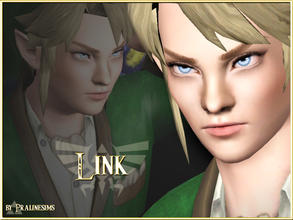 Sims 3 — Link by Pralinesims — The famous Hero Link from the video game series 'The Legend Of Zelda', now as a sim!