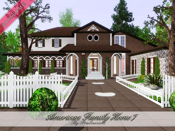 Pralinesims 39 american family home 7 for American family homes