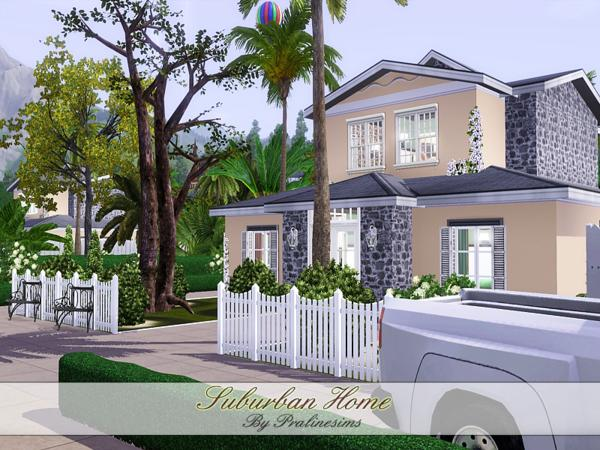 pralinesims' suburban home