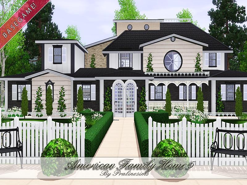 Pralinesims 39 american family home 5 for American family homes