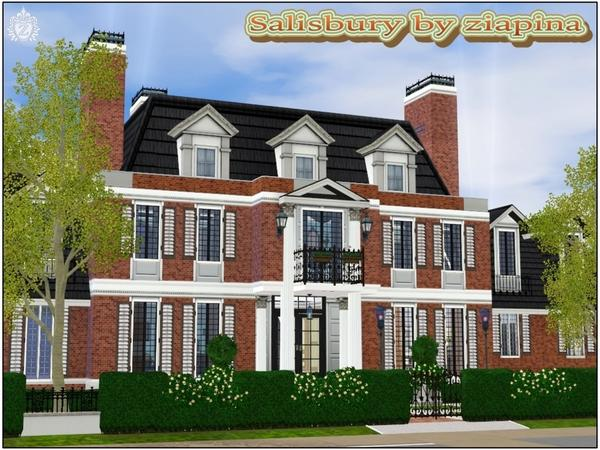 Sims 3 resource 4 bedroom house for Sims 3 6 bedroom house
